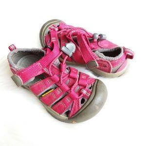 Keen | Red & Gray Casual Kids Shoe